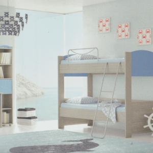 Παιδικά δωμάτια κουκέτα Νο 4 economy