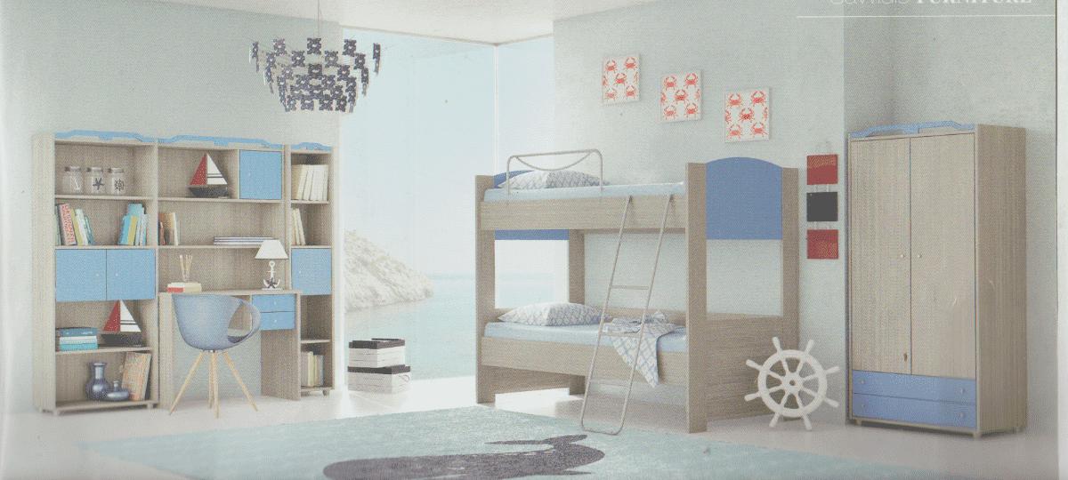 70b517148d7 Παιδικά δωμάτια κουκέτα Νο 4 economy – Casa Dell Arredo Έπιπλα ...