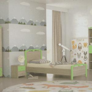 Παιδικά δωμάτια κρεβάτι όλιβ Νο2