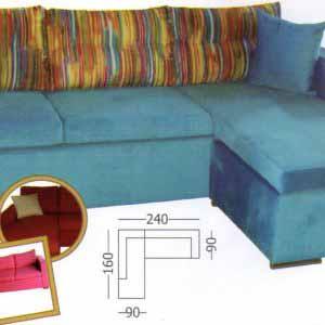 Γωνιακός καναπές Alex